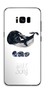 Whale song Skin Galaxy S8 Plus
