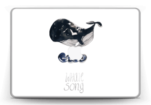 "Whale song Skin MacBook Pro 13"" -2015"