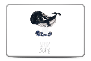"Whale song Skin MacBook Pro 17"" -2015"
