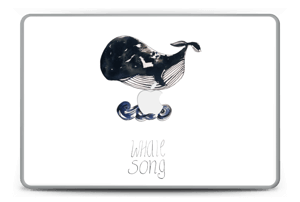 "Whale Song tarrakuori MacBook Pro 15"" -2015"