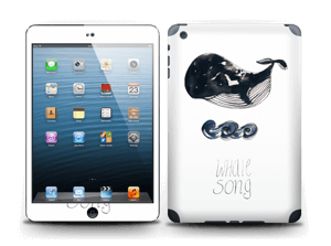 Whale song Skin IPad mini 2