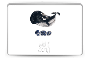 Whale song Skin Laptop 15.6