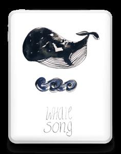 Whale Song tarrakuori IPad 1