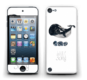 Whale song Skin IPod Touch 5th Gen