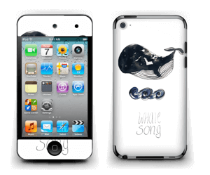 Whale song Skin IPod Touch 4th Gen