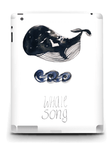 Whale song Skin IPad 4/3/2