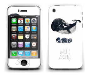 Whale song Skin IPhone 3G/3GS