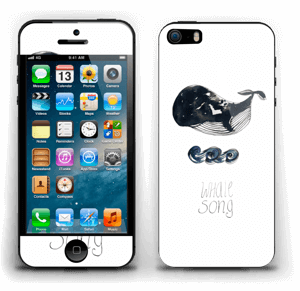 Whale song Skin IPhone 5s