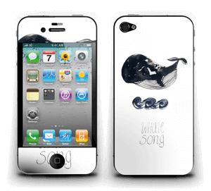 Whale song Skin IPhone 4/4s