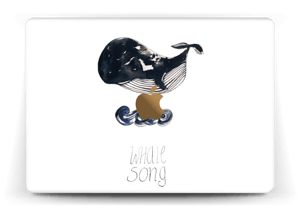 Whale song Skin MacBook 12""