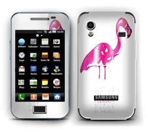 Be a flamingo Skin Galaxy Ace