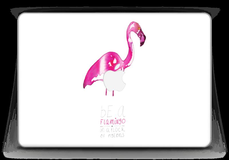 """Sei ein Flamingo Skin MacBook Pro Retina 13"""" 2015"""