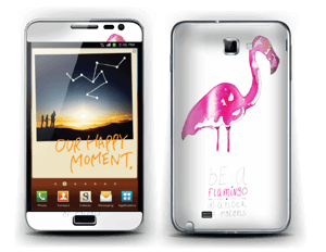 Be a flamingo  Skin Galaxy Note