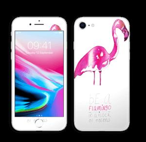 Be a flamingo Skin IPhone 8