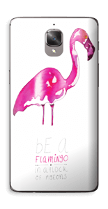 Be a flamingo Skin OnePlus 3