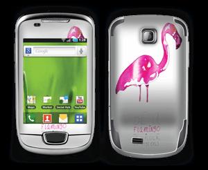 Be a flamingo Skin Galaxy Mini