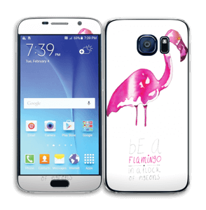 Be a flamingo Skin Galaxy S6