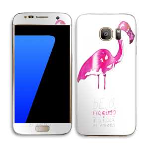 Be a flamingo Skin Galaxy S7