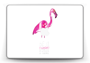"Be a flamingo Skin MacBook Pro 13"" -2015"