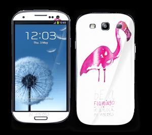 Be a flamingo Skin Galaxy S3