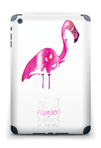 Sei ein Flamingo Skin IPad mini 2 back