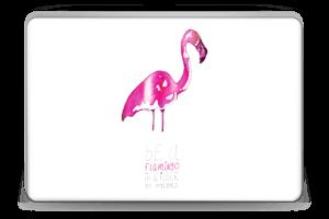 Be a flamingo Skin Laptop 15.6