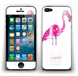 Be a flamingo Skin IPhone 5