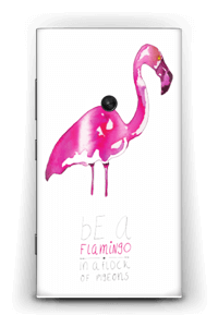 Be a flamingo Skin Nokia Lumia 920