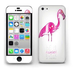 Be a flamingo Skin IPhone 5c