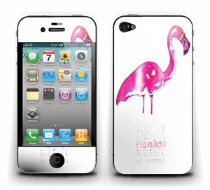 Be a flamingo Skin IPhone 4/4s