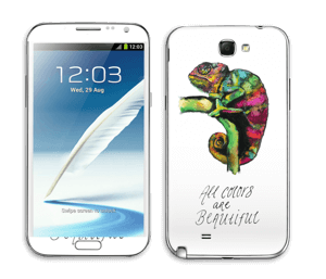 All colors are beautiful Skin Galaxy Note 2