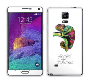 All colors are beautiful Skin Galaxy Note 4