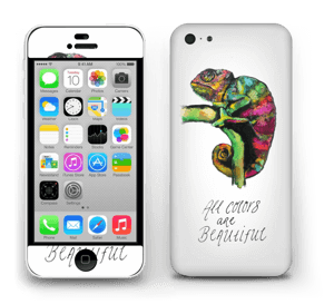 All colors are beautiful Skin IPhone 5c