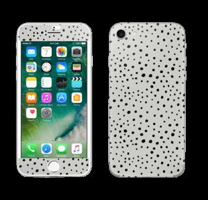 Prikker på grått Skin IPhone 7