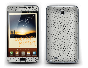 Various black dots Skin Galaxy Note