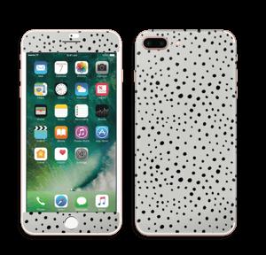 Prikker på grått Skin IPhone 7 Plus