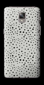 Prikker på grått Skin OnePlus 3T