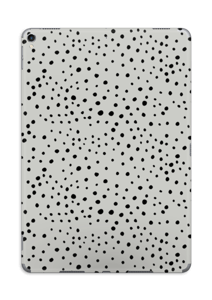 Prikker på grått Skin IPad Pro 10.5