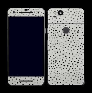 Prikker på gråt Skin Pixel 2