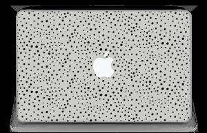 """Prikker på grått Skin MacBook Air 11"""""""