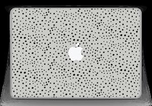 """Prikker på grått Skin MacBook Pro 13"""" -2015"""
