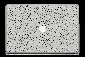 "Black dots on grey Skin MacBook Pro 17"" -2015"