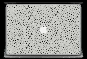 """Prikker på grått Skin MacBook Pro 15"""" -2015"""