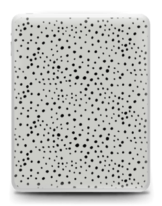 Prikker på grått Skin IPad 1