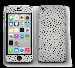 Prikker på grått Skin IPhone 5c