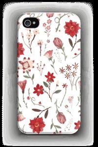 Ruusutarha kuoret IPhone 4/4s