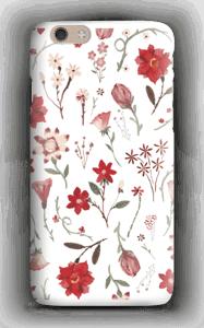 Ruusutarha kuoret IPhone 6