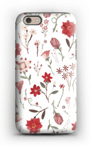 Rose garden case IPhone 6 tough