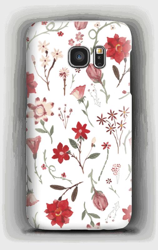 Ruusutarha kuoret Galaxy S7