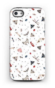 Hyönteiset kuoret IPhone 5/5s tough